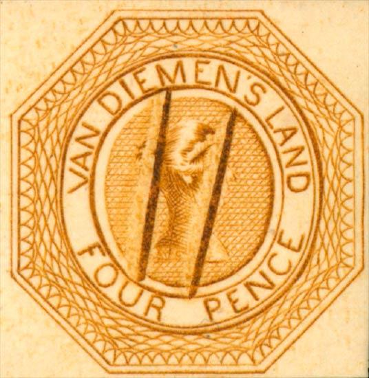 Tasmania_Courier_4p_1889_Reprint