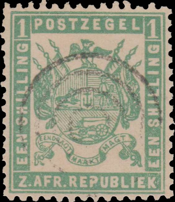 Transvaal_1870_1s_green_Forgery
