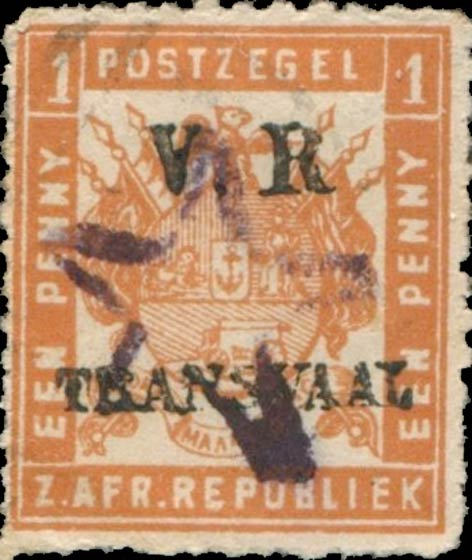 Transvaal_1877_VR_Transvaal_Overprint_Forgery