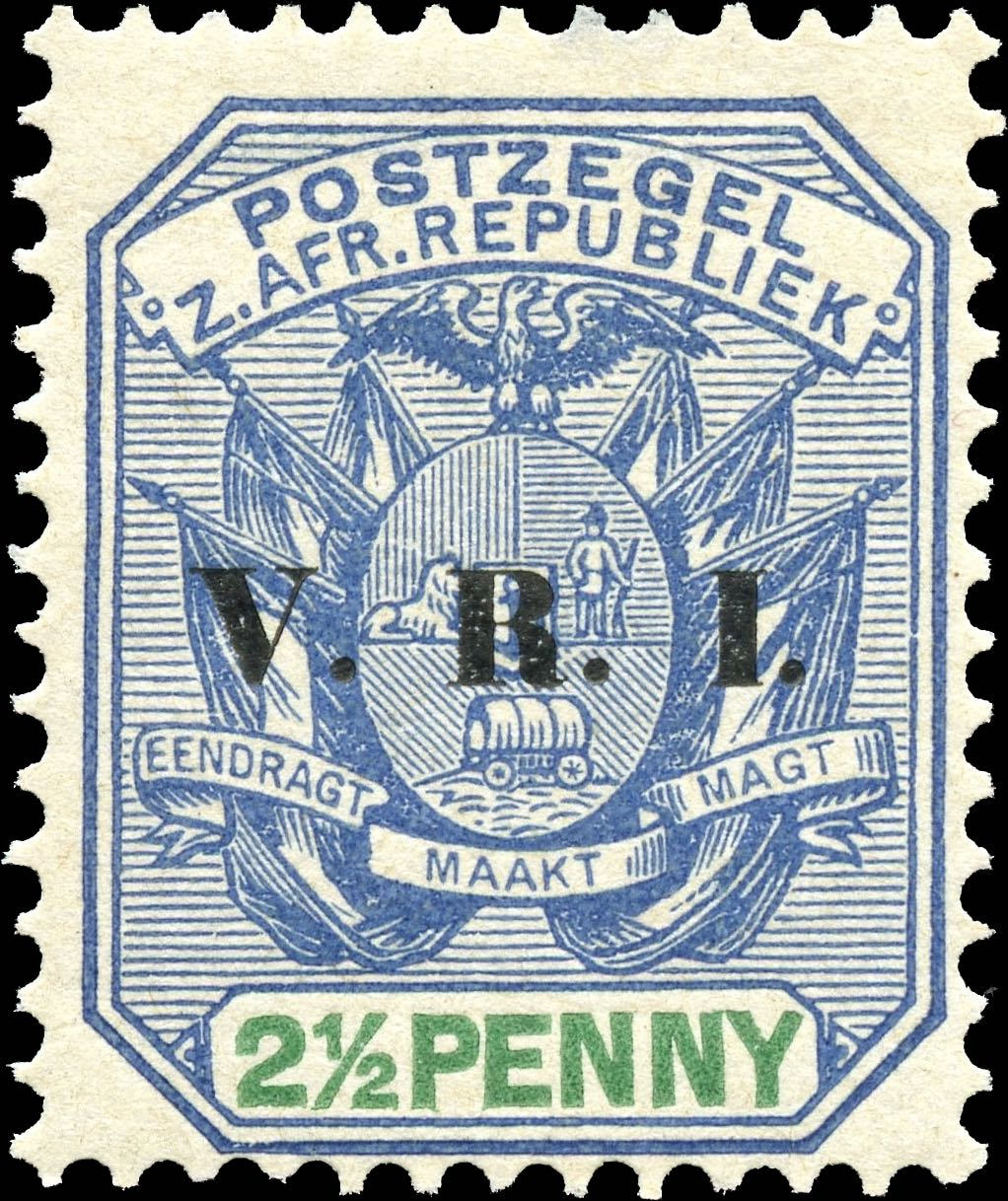 Transvaal_1900_2.5p_VRI_Overprint_Reprint