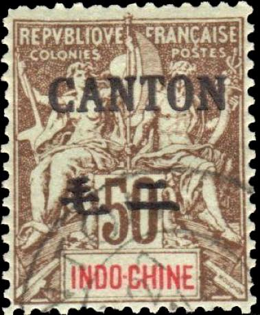 indo_china_canton_surcharge_50c-sepia_hirschburger_forgery
