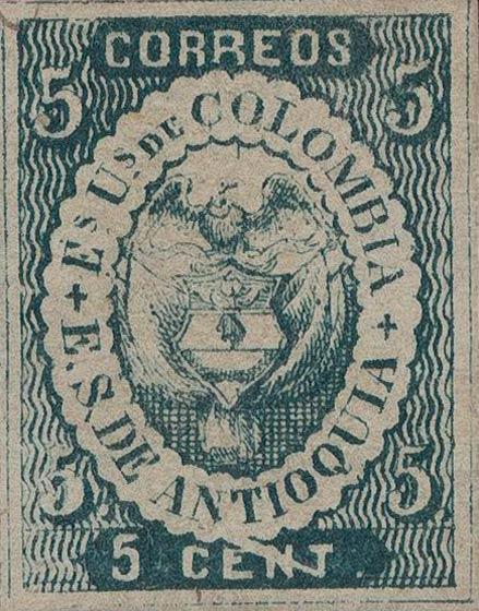Antioquia_1868_Coat-of-Arms_5centavos_Variety_Genuine
