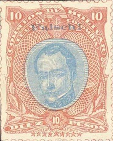Bolivar_1882_Bolivar_10p_Forgery
