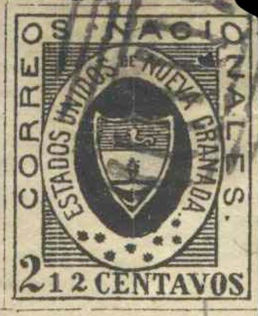 Colombia_1861_Coat_of_Arms_2half_centavos_Forgery