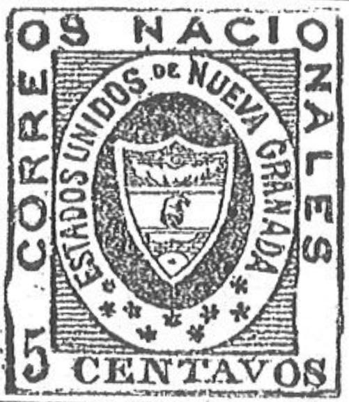 Colombia_1861_Coat_of_Arms_5_centavos_Torres_illustration