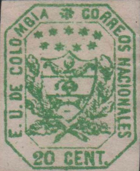 Colombia_1863_Coat_of_Arms_20c_Forgery