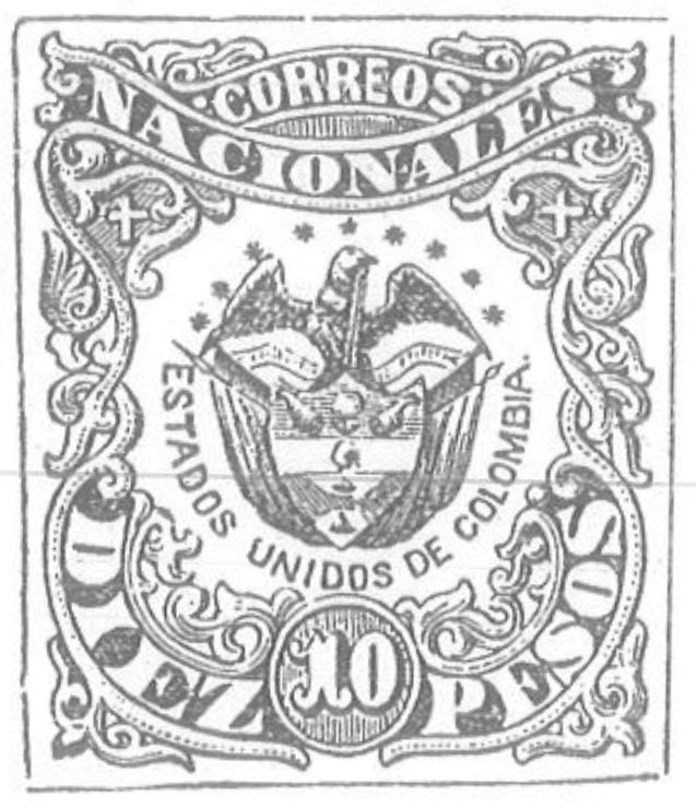 Colombia_1868_Coat_of_Arms_10p_Torres_illustration