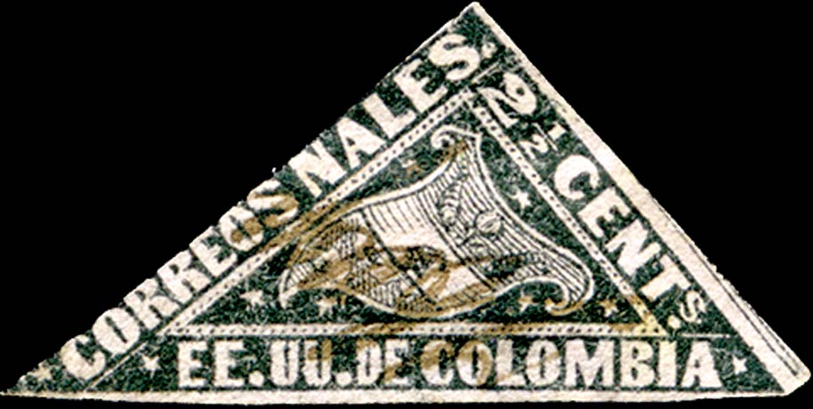 Colombia_1869_Carrier_2p_Genuine