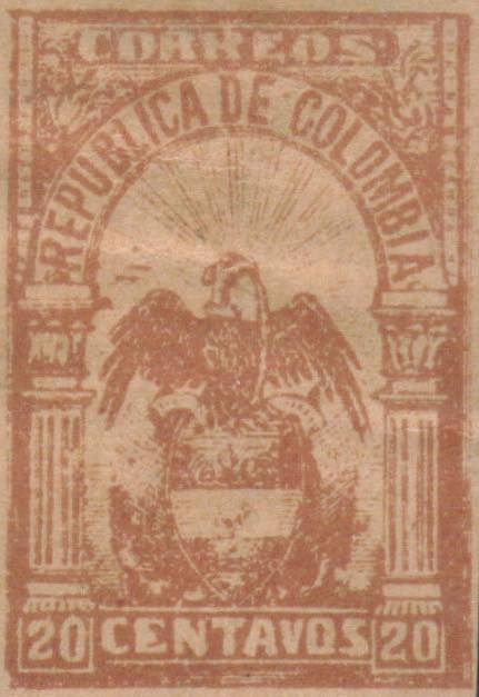 Colombia_1902_Eagle_20c_Forgery