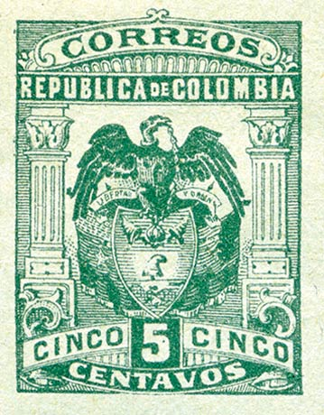 Colombia_1902_Eagle_5c_Forgery