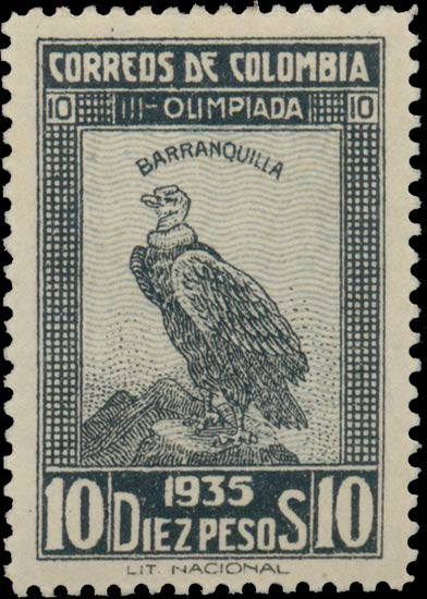 Colombia_1935_10p_Condor_Genuine