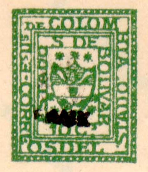 Colombia_Bolivar_1863_Fournier_Forgery