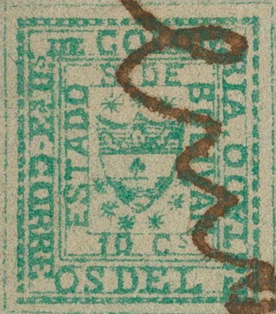 Colombia_Bolivar_1863_Sperati_Forgery