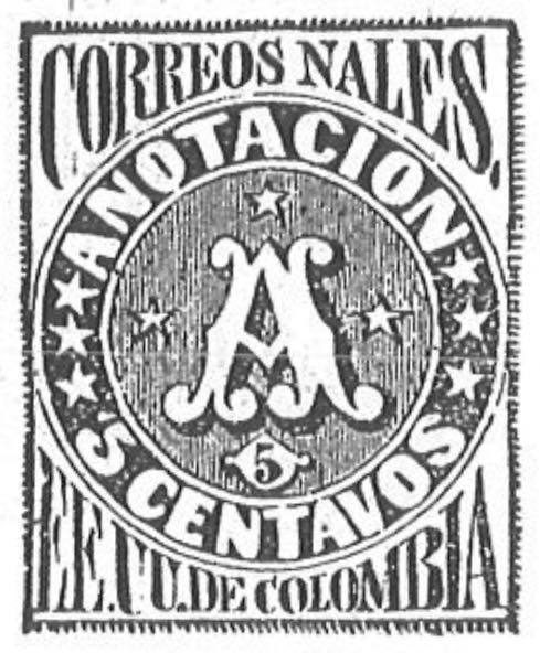 Colombia_Recommended_1870_5c_Torres_illustration