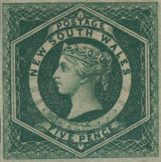 New_South_Wales_1855_5p_Genuine