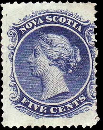 Nova_Scotia_QV_5c_Genuine