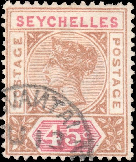 Seychelles_QV_45c_Forgery