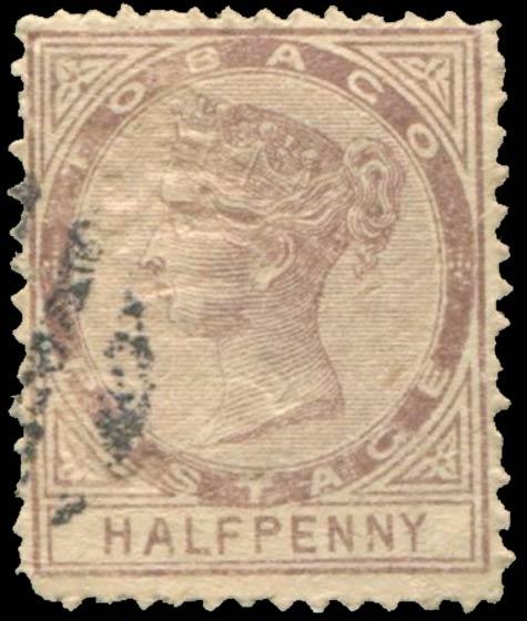 Tobago_1879_QV_Half-Penny_Forgery
