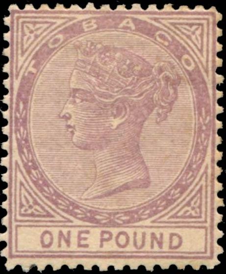 Tobago_1879_Queen_Victoria_1pound_Forgery