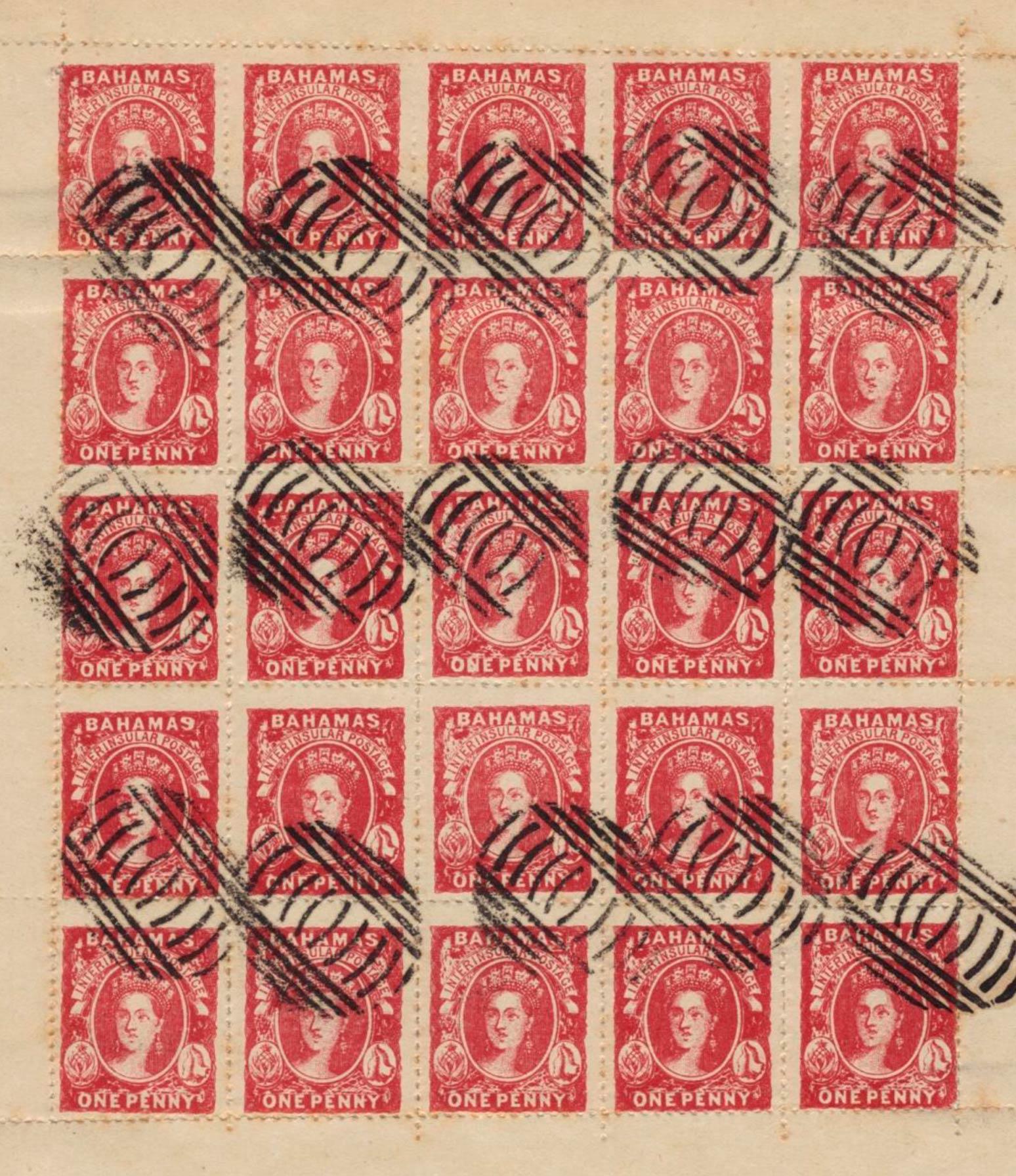 Bahamas_1861_1d_Spiro-sheet_Forgery