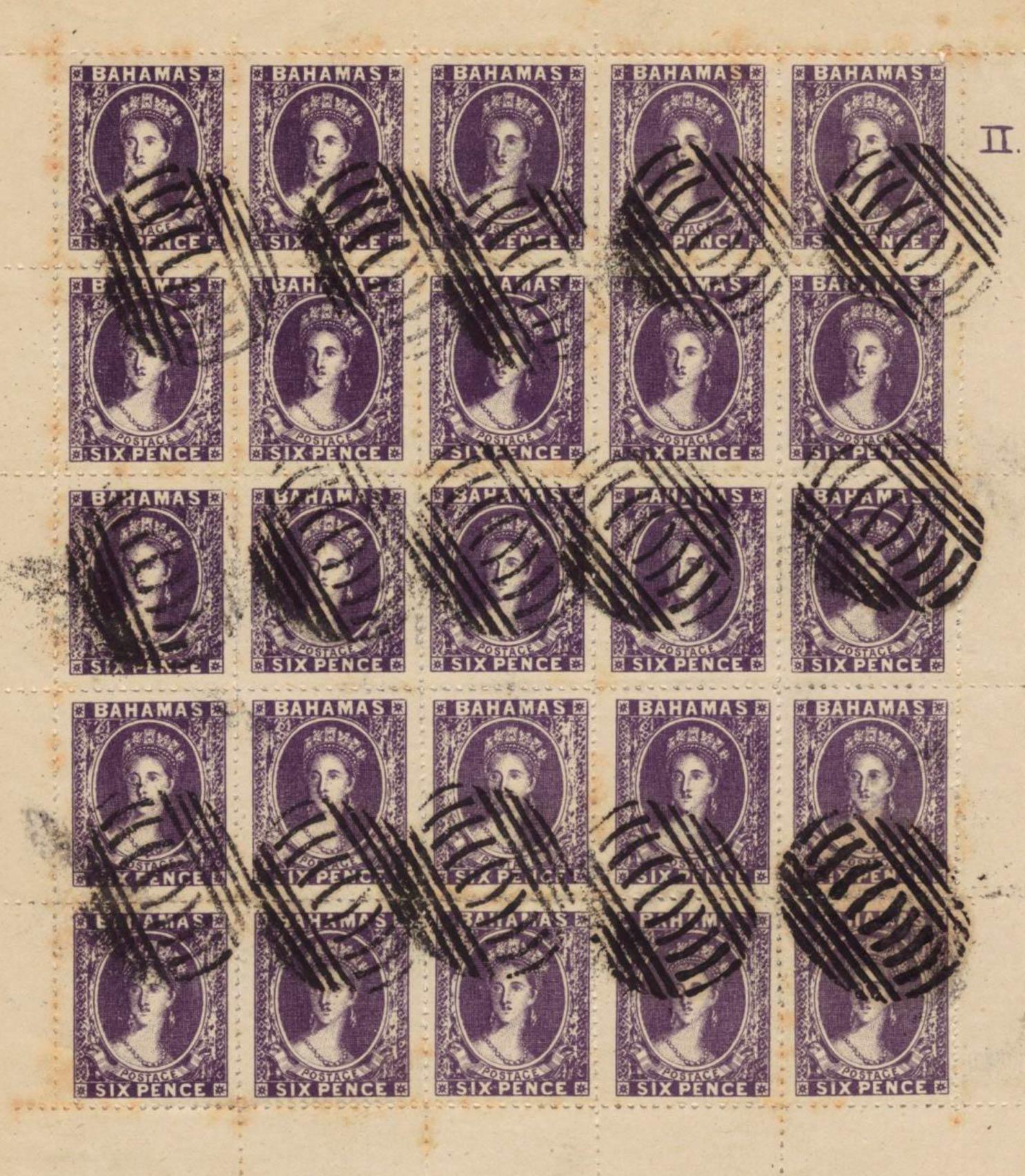 Bahamas_1861_6d_Spiro-sheet_Forgery