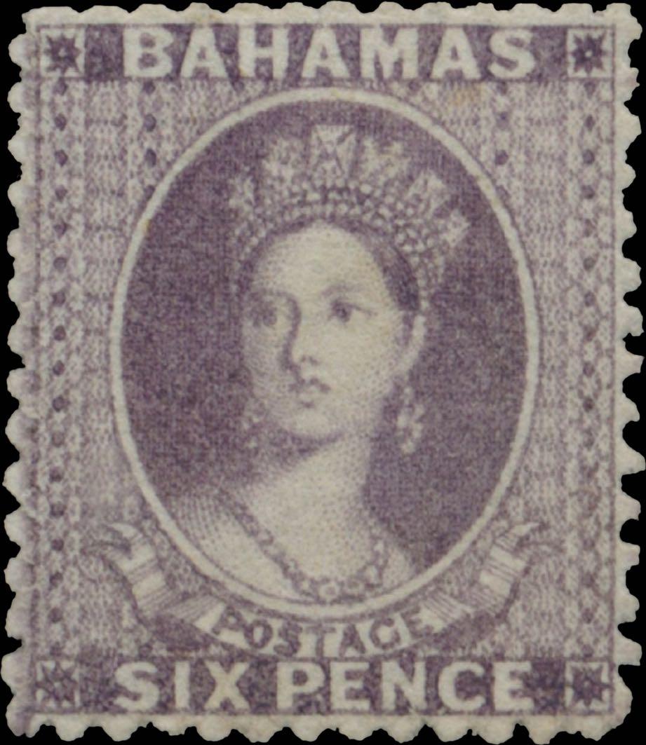 Bahamas_1861_QV_6d_Genuine