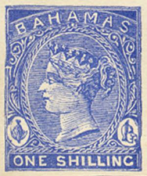 Bahamas_1865_QV_1s_Torres_forgery_blue