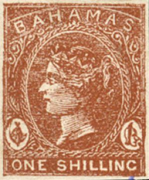Bahamas_1865_QV_1s_Torres_forgery_brown