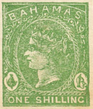 Bahamas_1865_QV_1s_Torres_forgery_green