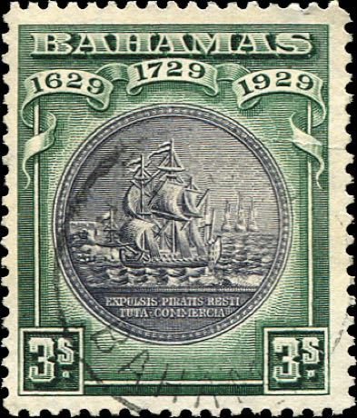 Bahamas_1929_3shillings_Madame_Joseph_Forgery