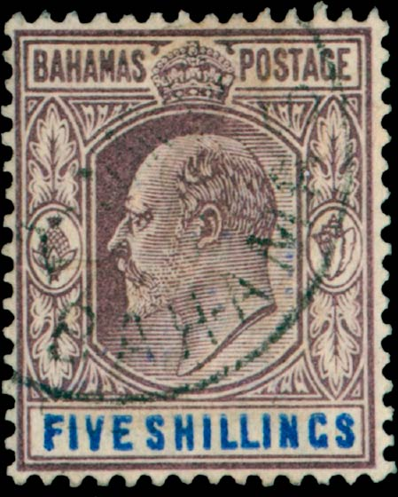 Bahamas_King_Edward_5s_Madame_Joseph_Forgery