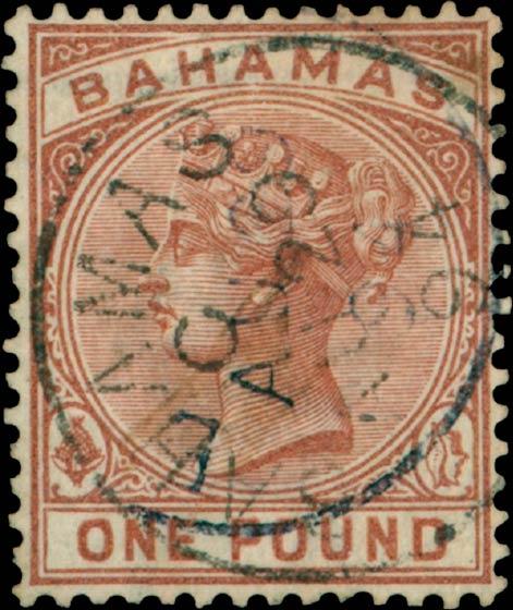 Bahamas_QV_1pound_Madame_Joseph_Forgery