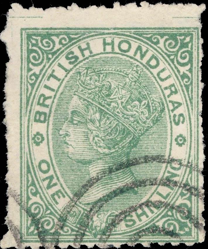 British_Honduras_QV_1s_Forgery