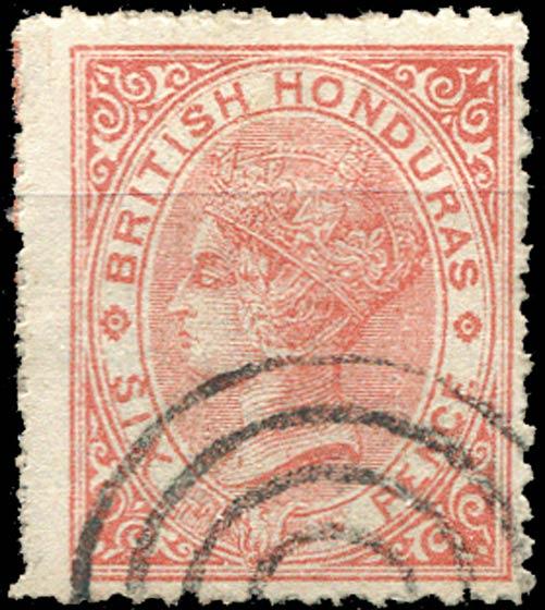 British_Honduras_QV_6p_Forgery
