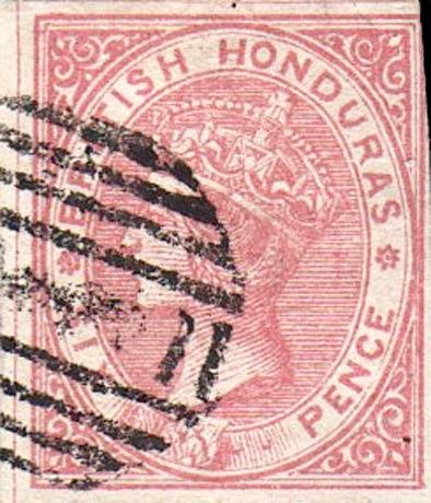 British_Honduras_QV_6p_Red_Forgery