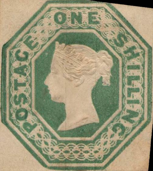 Great_Britain_1847_QV_1s_Genuine