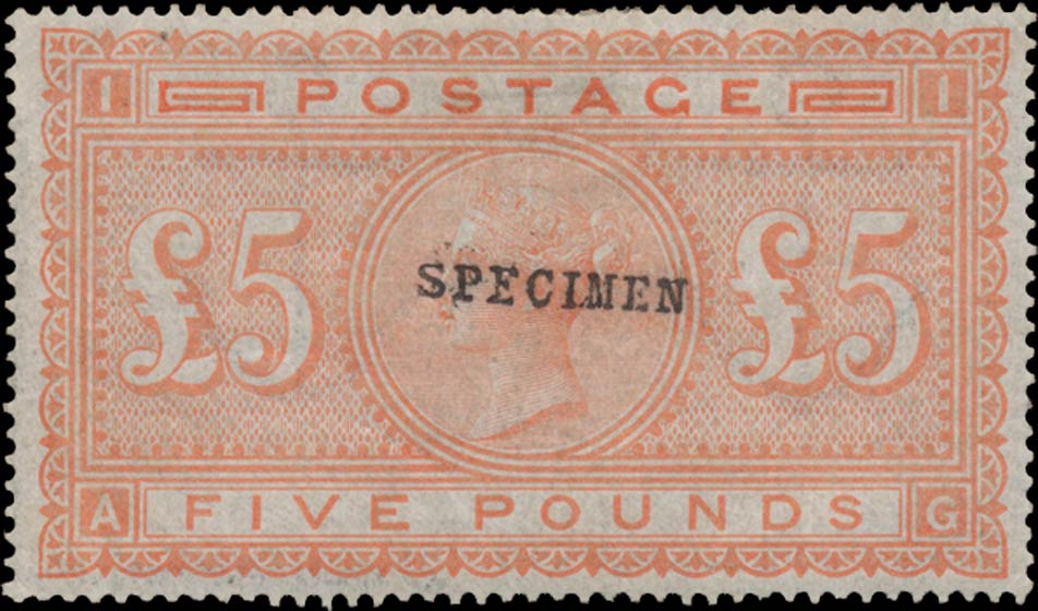 Great_Britain_1882_QV_5pound_Specimen_Genuine