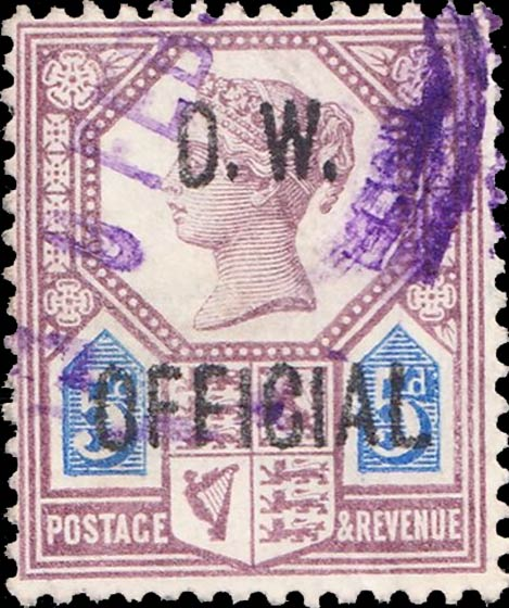 Great_Britain_1902_QV_Official_OW_Official_Forgery