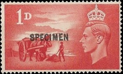 Great_Britain_1948_1d_Liberation_Specimen_Forgery