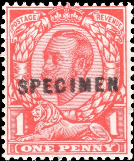 Great_Britain_King_George_1p_Forged_Specimen_Overprint