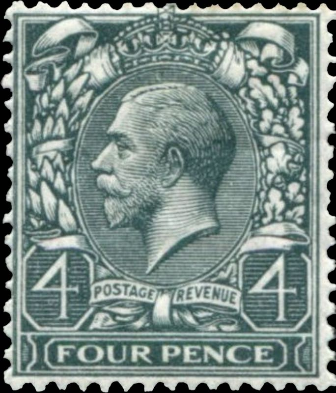 Great_Britain_King_George_4p_Genuine