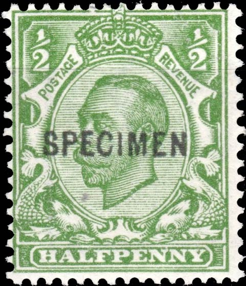 Great_Britain_King_George_half-penny_Forged_Specimen_Overprint