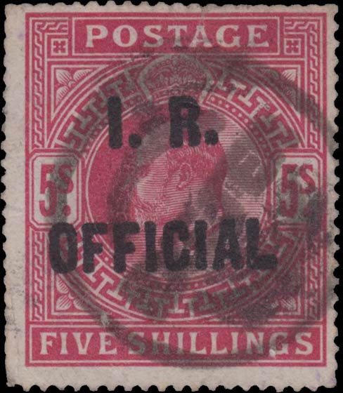 Great_Britain_Official_1911_Edward_5s_I.R.Official_Forgery