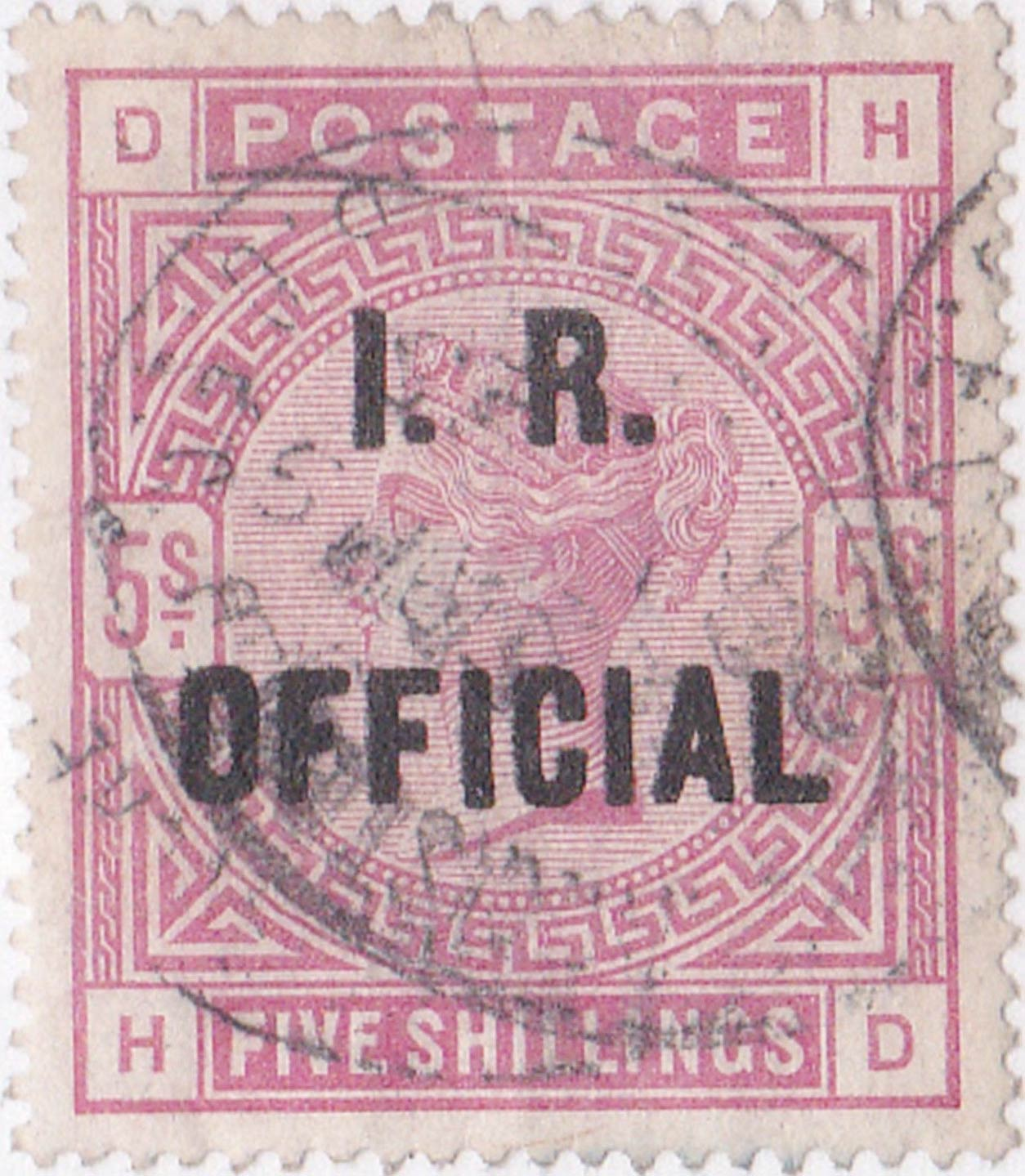 Great_Britain_Official_QV_5s_I.R.Official_Forgery