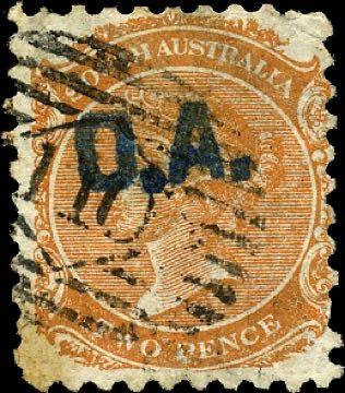 South_Australia_QV_2p_OA_overprint_Forgery
