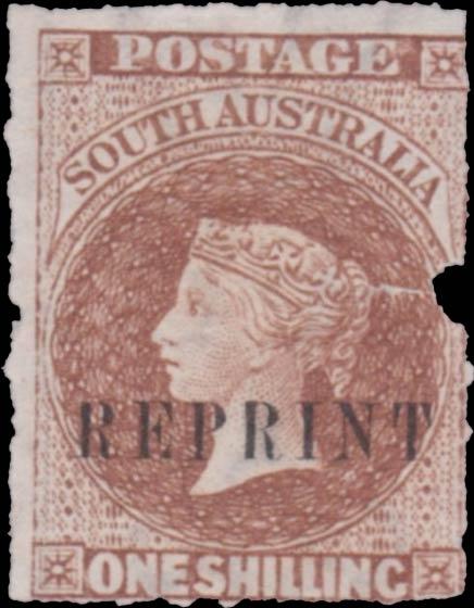 South_Australia_QV_Chalon_1s_Reprint