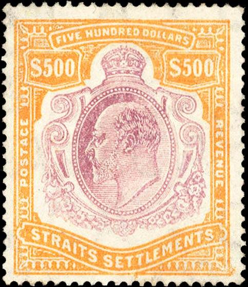 Strait_Settlements_1908_King_Edward_500dollars_Forgery