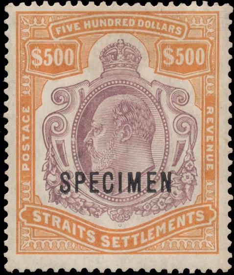 Strait_Settlements_1908_King_Edward_500dollars_Specimen_Genuine