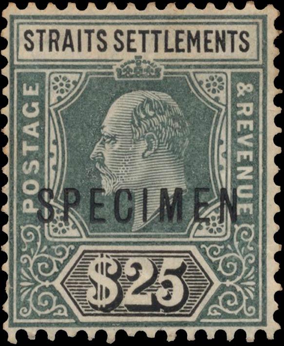 Straits_Settlements_1906_King_EdwardVII_25dollars_Specimen_Genuine