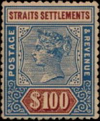 Straits_Settlements_QV_100dollar_Bogus